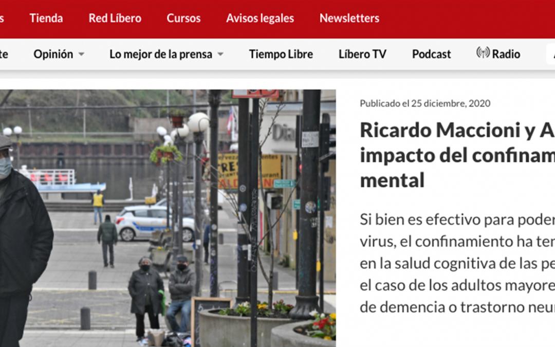 Ricardo Maccioni y Andrea González: El impacto del confinamiento en la salud mental