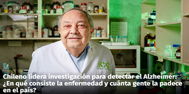Chileno lidera investigación para detectar el Alzheimer: ¿En qué consiste la enfermedad y cuánta gente la padece en el país?