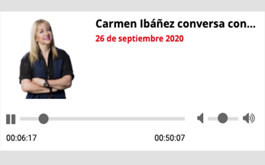 Carmen Ibáñez conversa con…