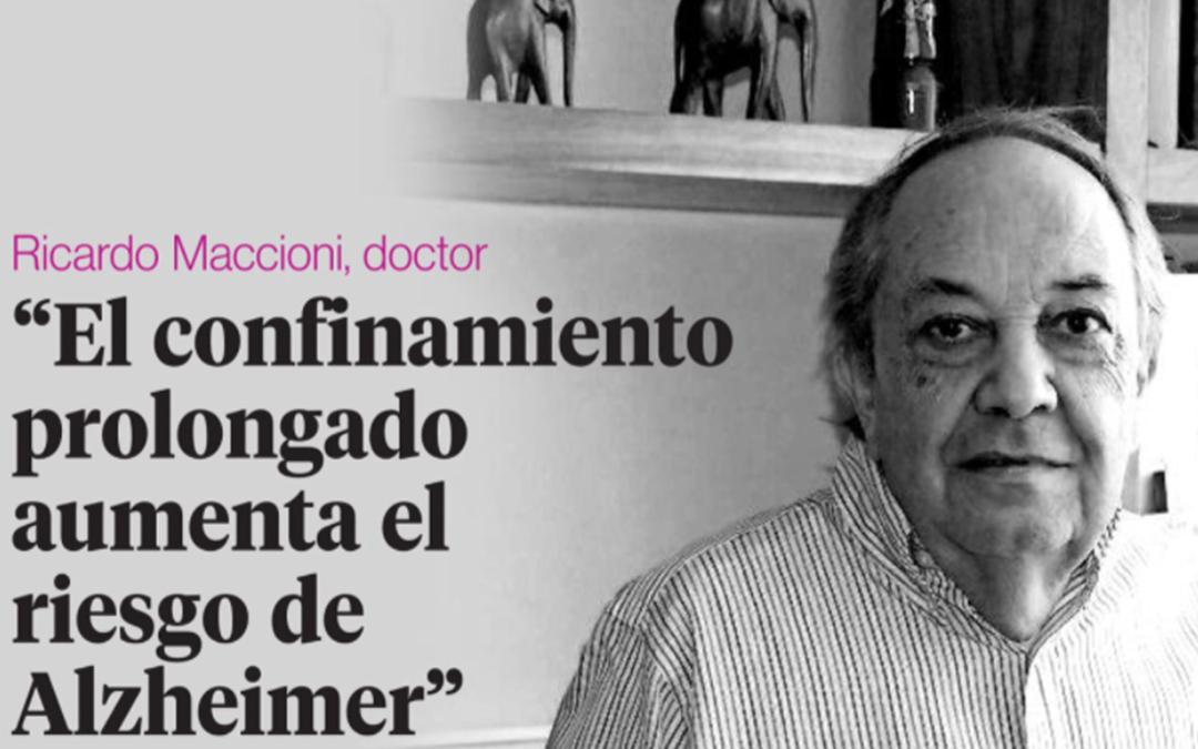"""""""El confinamiento prolongado aumenta el riesgo de Alzheimer"""""""