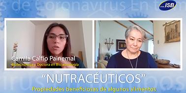 Camila Calfío, entrevista en tiempos de coronavirus