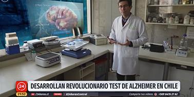 Desarrollan revolucionario test de alzheimer en Chile: Es más eficiente y económico que el norteamericano.