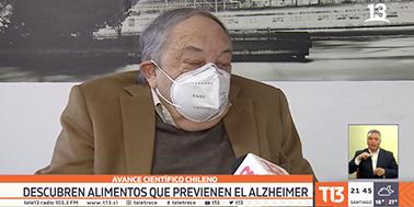 [VIDEO] Científico chileno: descubren alimentos que previenen el Alzheimer.