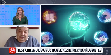 """Líder de investigación que permite diagnosticar alzheimer con un examen de sangre: """"Con este test se puede frenar el daño"""""""