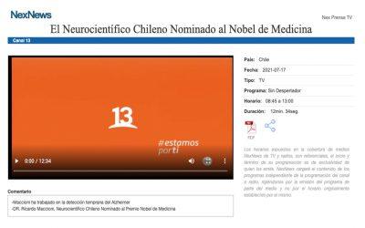 El Neurocientífico Chileno Nominado al Nobel de Medicina
