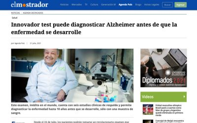 Innovador test puede diagnosticar Alzheimer antes de que la enfermedad se desarrolle