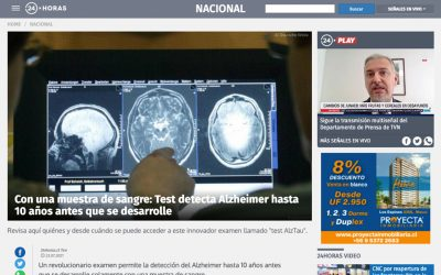 Con una muestra de sangre: Test detecta Alzheimer hasta 10 años antes que se desarrolle