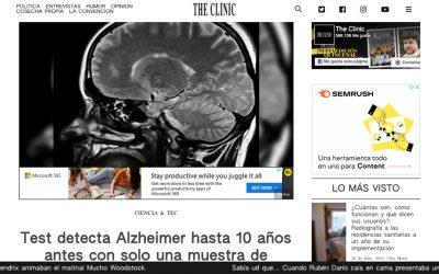Test detecta Alzheimer hasta 10 años antes con solo una muestra de sangre