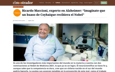 Ricardo Maccioni, experto en Alzheimer, nominado a premio nobel