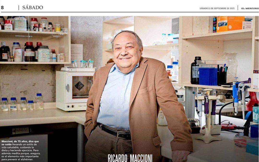 Ricardo Maccioni, un científico Nobel